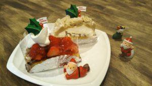 クリスマス限定ケーキの登場|新安城のお菓子の店(ケーキ屋)|モントル|お誕生日ケーキ・季節のタルト・焼き菓子ギフトなど。カフェ併設