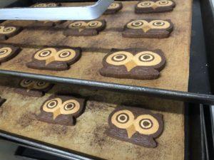ふくろうのクッキー|新安城のお菓子の店(ケーキ屋)|モントル|お誕生日ケーキ・季節のタルト・焼き菓子ギフトなど。カフェ併設