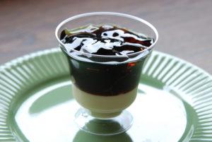 紅茶ゼリーandコーヒーゼリー|新安城のお菓子の店(ケーキ屋)|モントル|お誕生日ケーキ・季節のタルト・焼き菓子ギフトなど。カフェ併設
